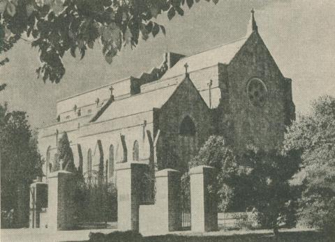 Holy Trinity Cathedral - Church of England, Wangaratta, 1960