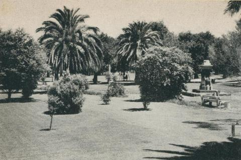 The Gardens at May Park, Horsham, 1960