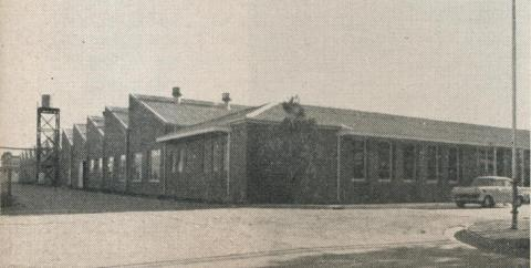 Ball and roller bearing factory, Echuca, 1961