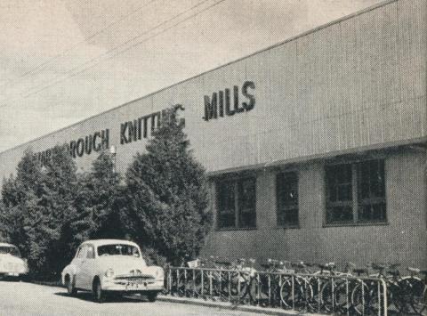 Knitting Mills factory, Tuaggra Street, Maryborough, 1961