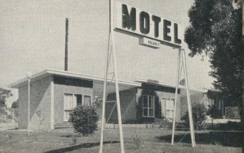 Motel, Sutton Road, Maryborough, 1961