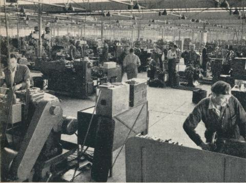 Patience & Nicholson Factory, Maryborough, 1961