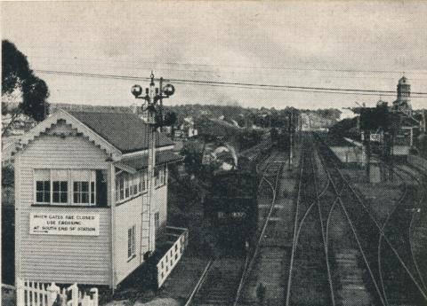Shunting Operations, Maryborough Goods Yard, 1961