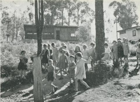 Upper Yarra State School, 1956