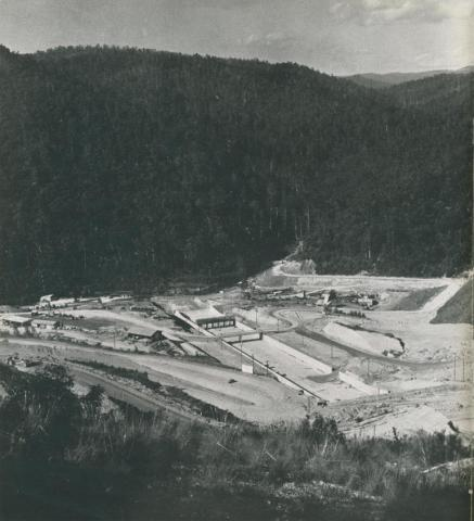 The Upper Yarra Project, 1956