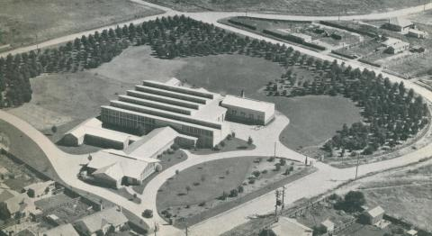 La Mode Industries plant, Morwell, c1952