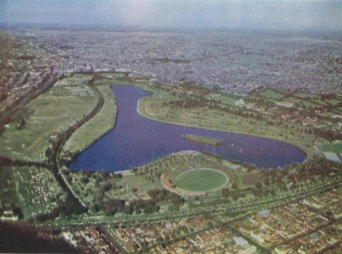 Albert Park, 1958