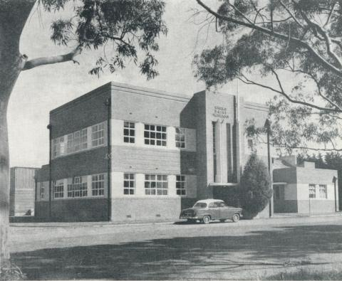 School of Dairy Technology, State Research Farm, Werribee, 1958