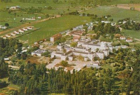 Home for the mentally ill, Ararat, 1958