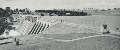 Lauriston Dam, 1958
