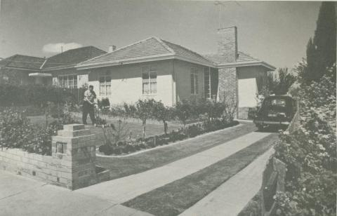 Housing Commission Home, Box Hill, 1960