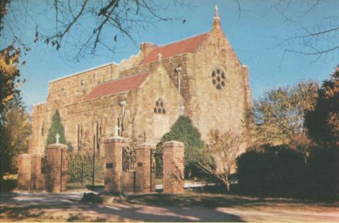 Holy Trinity Cathedral, Wangaratta, 1960