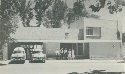 The Ambulance Station, Wangaratta, 1960