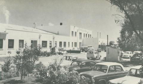 Milk Produce Factory, Merrigum, 1960