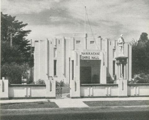 Civic Headquarters, Narracan, 1955