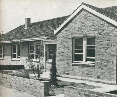House in Richmond Estate, 1942