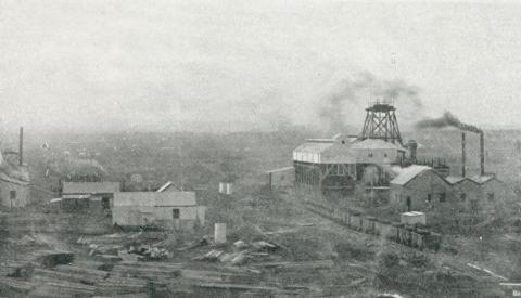 The State Mine as it appeared in 1910, Wonthaggi, 1927