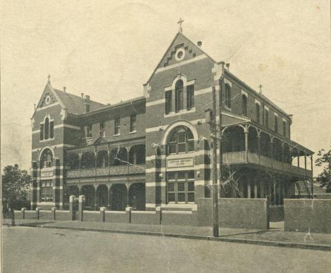 St Joseph's Boys College, Queensberry Street, North Melbourne, 1930