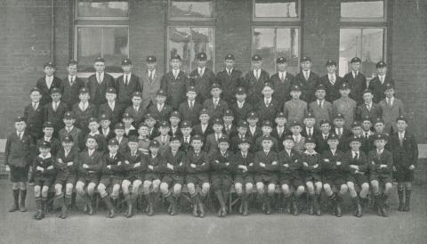 St Joseph's Boys College, Sixth and Junior Classes, North Melbourne, 1930