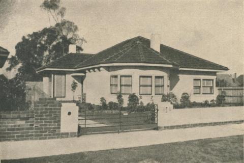 Caulfield Residence, 1946