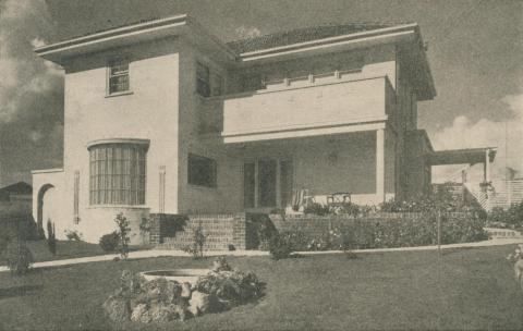 East Ivanhoe Residence, 1946