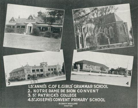 Colleges  at Sale, 1938