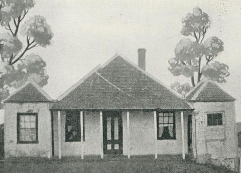 Sale's first house, 1938