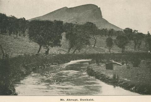 Mount Abrupt, Dunkeld, 1919