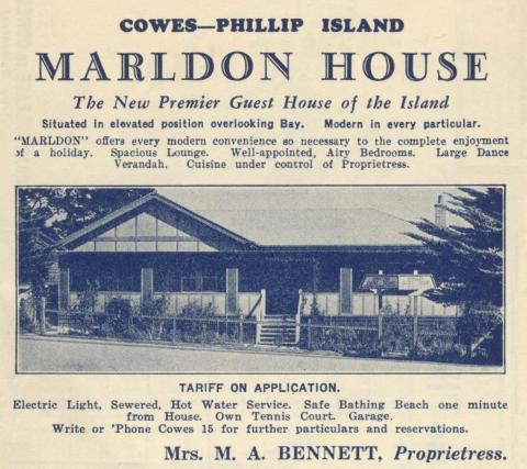 Marldon House, Cowes, 1949