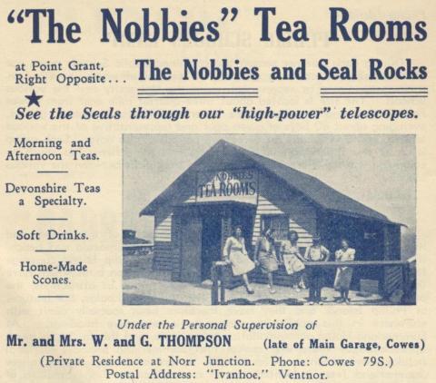 The Nobbies Tea Rooms, Phillip Island, 1949