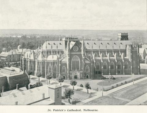 St Patrick's Cathedral, Melbourne, 1900