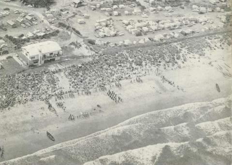 Beach, Warrnambool, c1960
