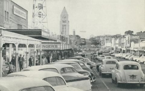 Main Street, Warrnambool, c1960