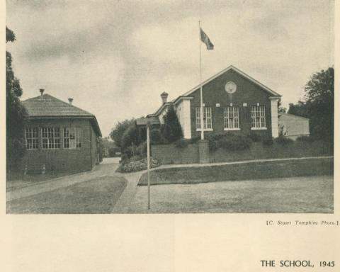 Camberwell Church of England Girls' Grammar School, 1945