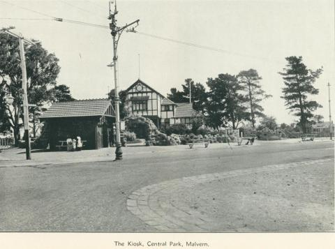 The Kiosk, Central Park, Malvern