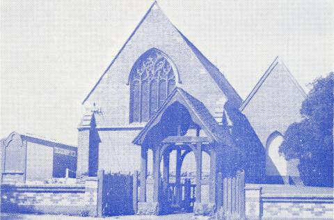 St John's Church, Soldiers Hill, 1965