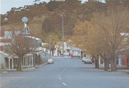 Main Street, looking south, Maldon