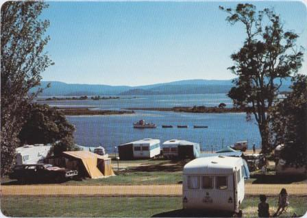 Some of the many picturesque sites available to campers, Mallacoota