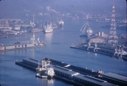 Melbourne Port, c1970