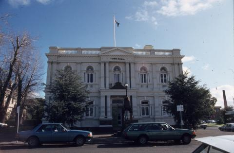 Maryborough Town Hall, 1985