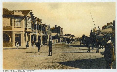 Commercial Road, Koroit, c1910
