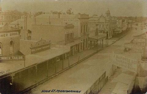 High Street, Maryborough, c1910
