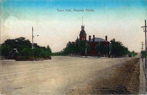 Town Hall, Moonee Ponds, c1910