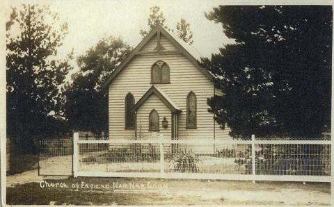 Anglican Church, Nar Nar Goon, c1909