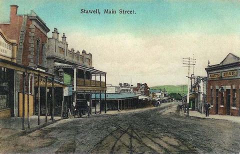 Main street, Stawell, c1910