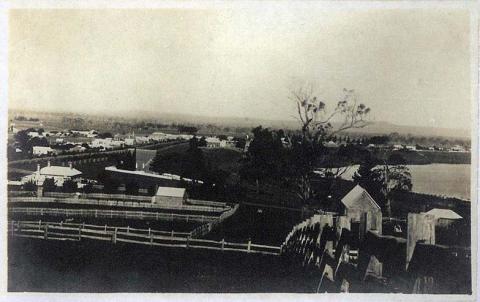 View across Terang, c1910