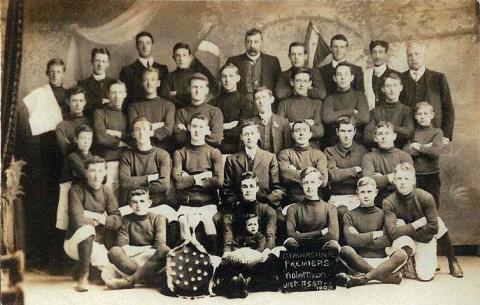 Gymnasium Football Club, Violet Town, premiers Victorian Association, 1908