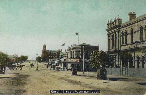 Koroit Street, Warrnambool, c1910