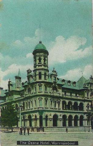 Ozone Hotel, Warrnambool, 1913