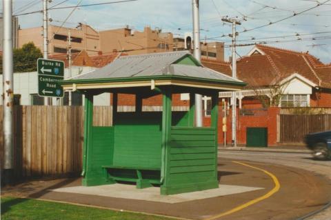 Passenger shelter, Camberwell, 2000